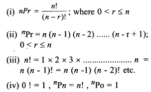 Plus One Maths Notes Chapter 7 Permutation and Combinations