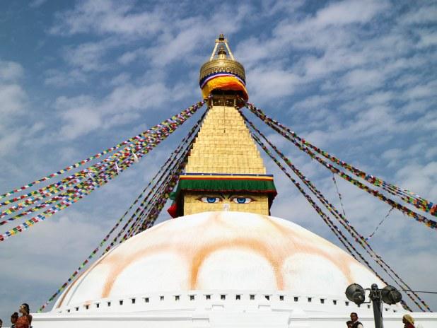 La estupa de Boudhanath