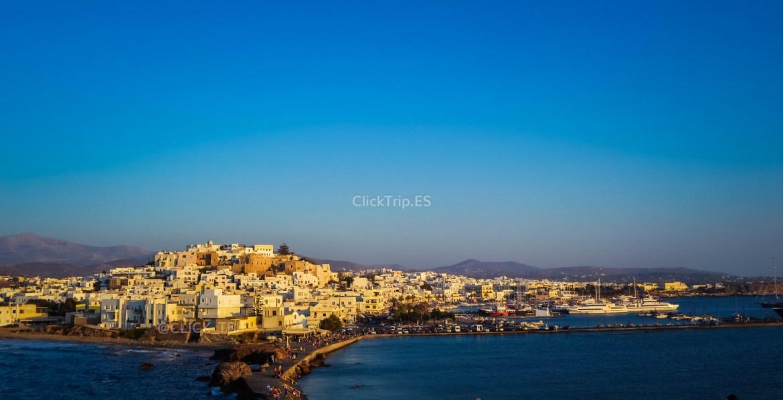 Naxos desde la puerta de Apolo | Isla de Naxos | Islas Griegas | ClickTrip