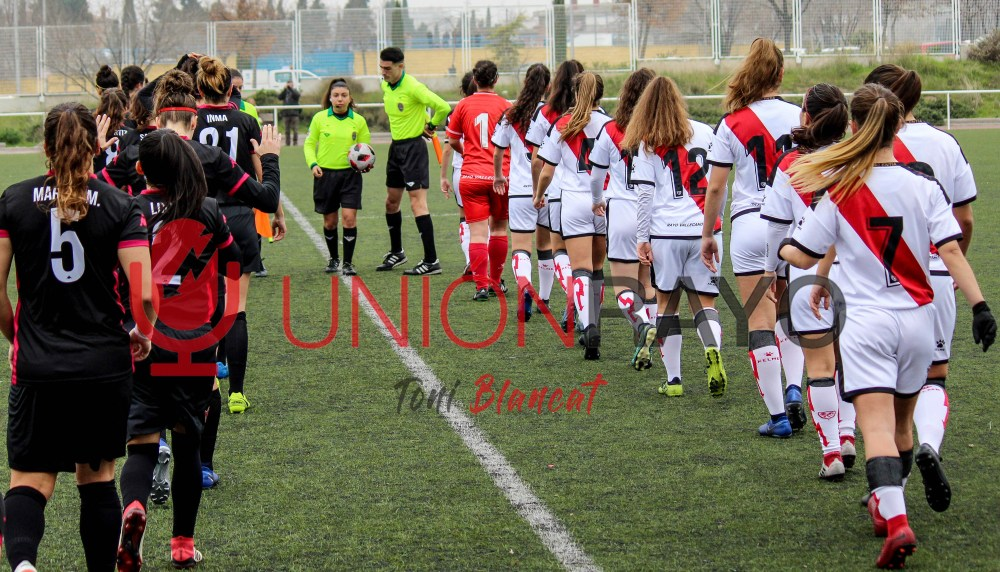 Femenino B 0-0 CD Tacón