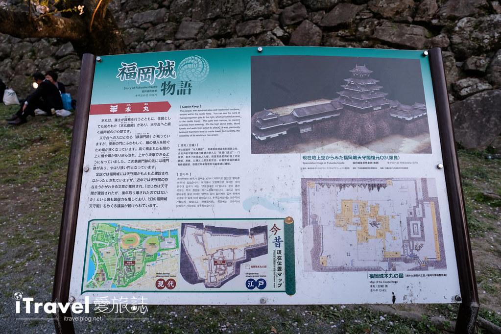 賞櫻景點 福岡城夜櫻 (18)
