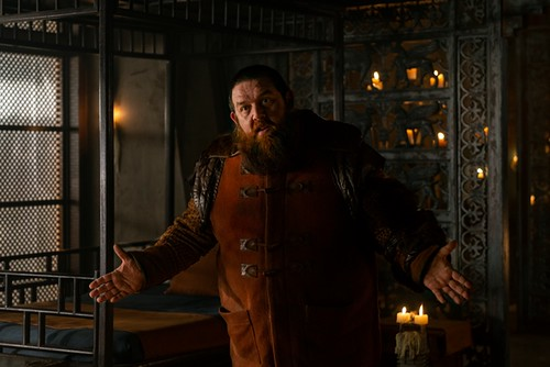Nick Frost as Bajie - Into the Badlands _ Season 3, Episode 11 - Photo Credit: Aidan Monaghan/AMC