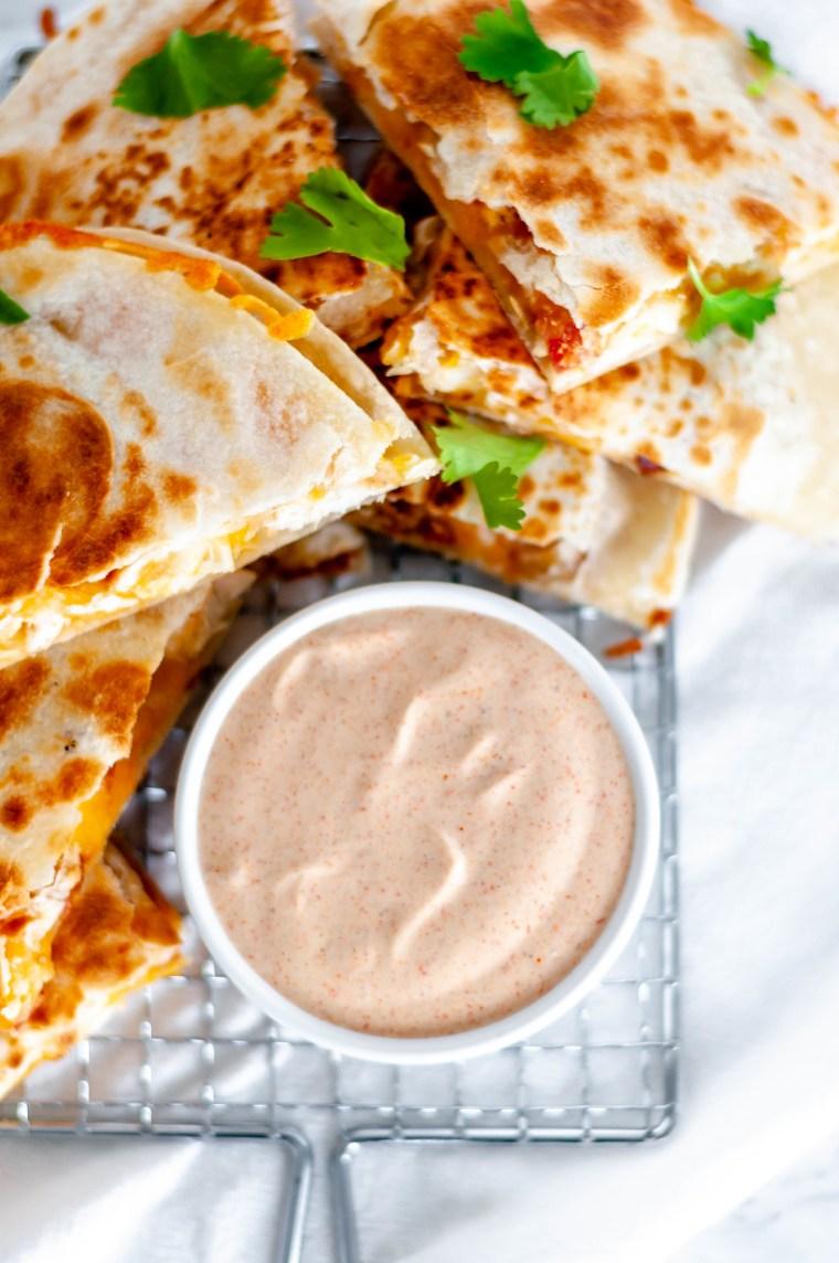 Copycat Taco Bell Quesadilla Sauce