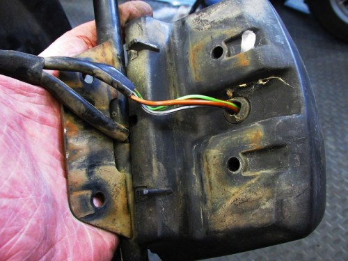 Rear Wiring Sub-harness Tail Light Wires & Turn Signal Wires