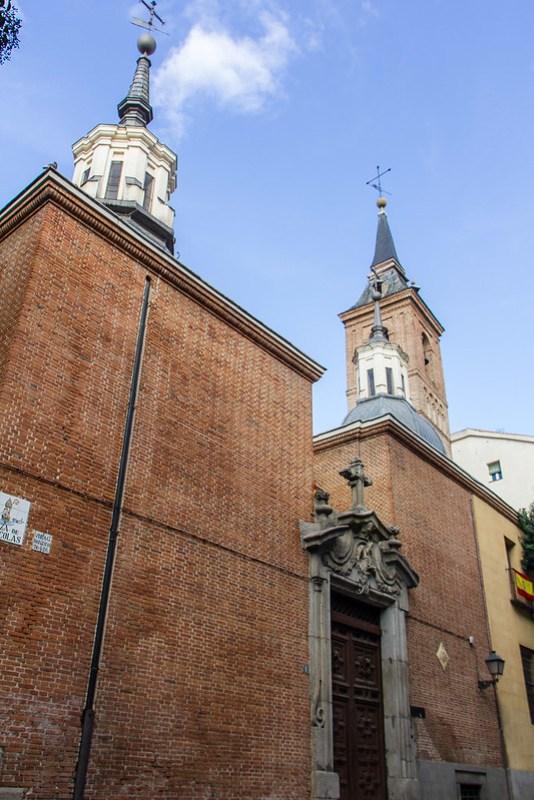 exterior Iglesia de San Nicolas de Bari Madrid
