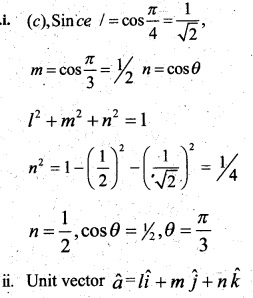 Plus Two Maths Chapter Wise Questions and Answers Chapter 10 Vector Algebra 51