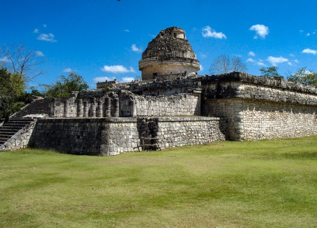 The Observatory at Chichen Itza (El Caracol)