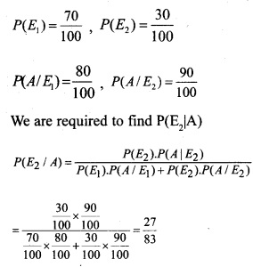 Plus Two Maths Chapter Wise Questions and Answers Chapter 13 Probability 9