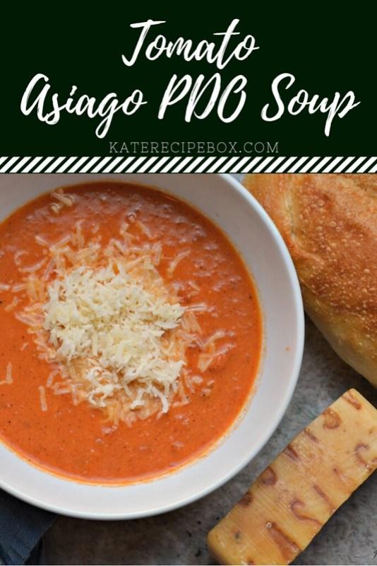 Tomato Asiago PDO Soup