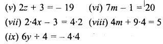 Selina Concise Mathematics Class 6 ICSE Solutions - Simple (Linear) Equations (Including Word Problems) - b1s