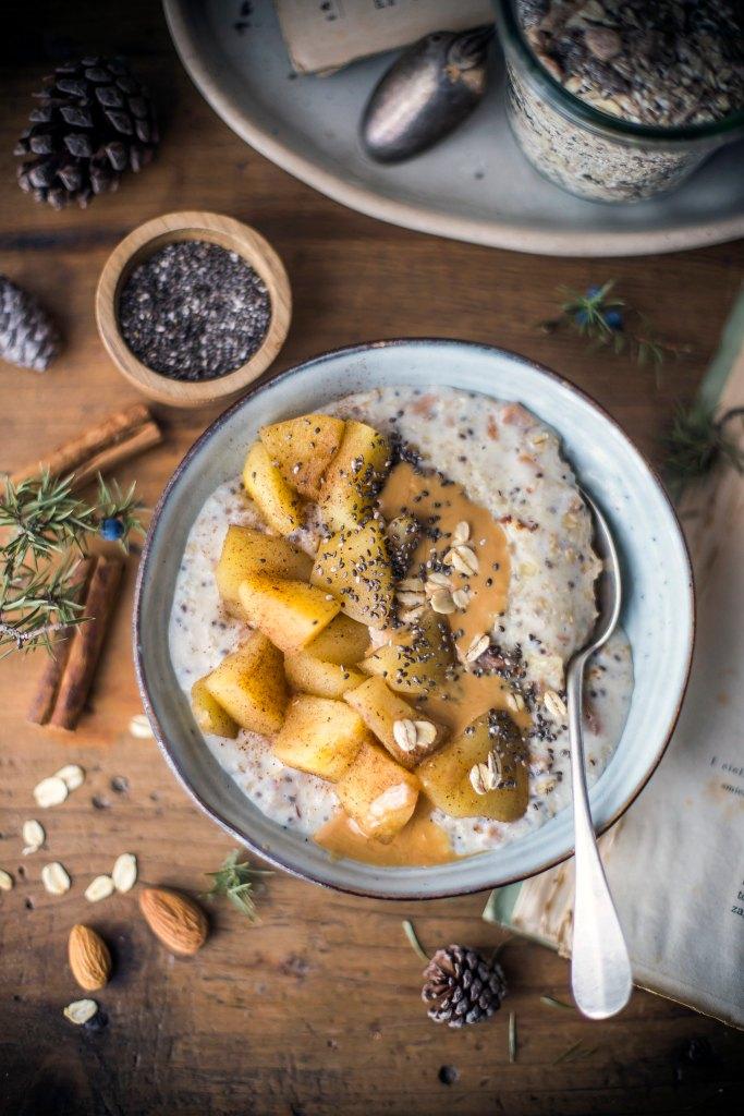Preparato per porridge- mela e cannella_2