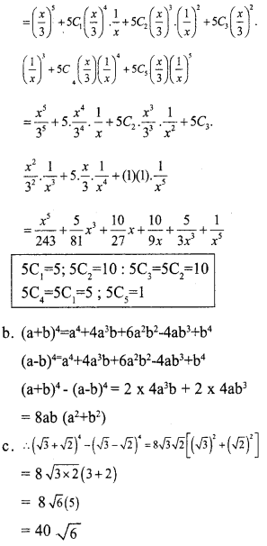 Plus One Maths Model Question Papers Paper 4A21.1