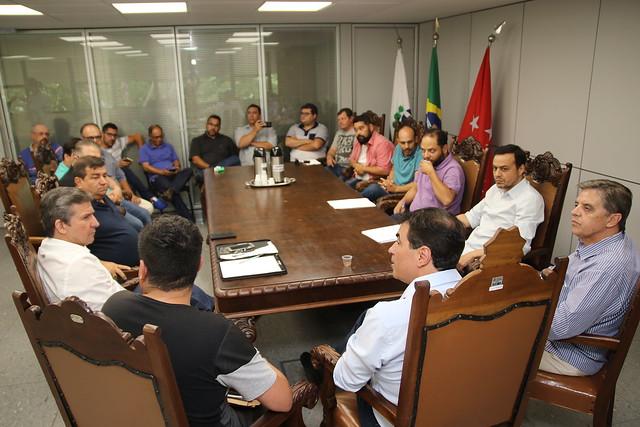 26.03.2019 Reunião com representantes dos motoristas de aplicativos
