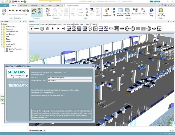 Working with Siemens Tecnomatix Plant Simulation 14.2.3 Win64 full cracked