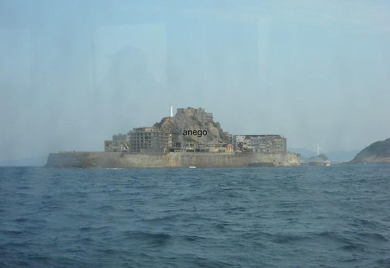 軍艦島に行くところ