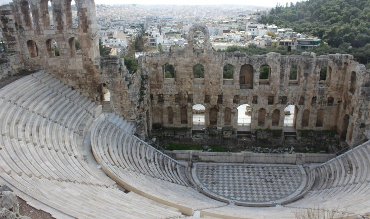 the Theatre of Herodes Atticus, Atena