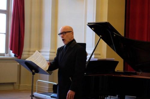 John Erik Eleby, baryton Mats Jansson, piano