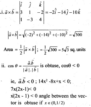 Plus Two Maths Chapter Wise Questions and Answers Chapter 10 Vector Algebra 18