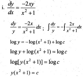 Plus Two Maths Chapter Wise Questions and Answers Chapter 9 Differential Equations 73