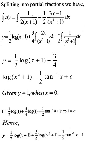 Plus Two Maths Chapter Wise Questions and Answers Chapter 9 Differential Equations 50