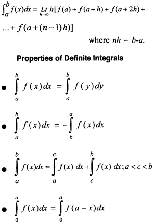 Plus Two Maths Notes Chapter 7 Integrals 9