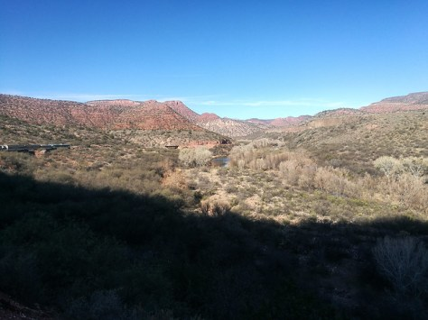 Verde Canyon train trip