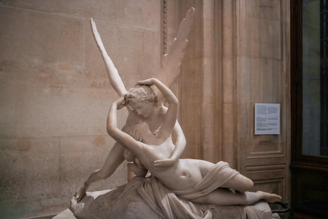 Amore e Psiche, Louvre
