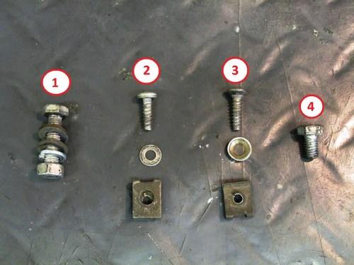 Fairing Mounting Hardware