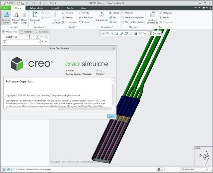 Working with PTC Creo simulate 6.0.0.0 full
