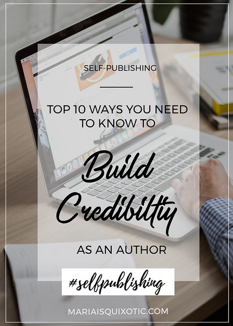 Top 10 Ways You Need to Know to Build Credibility as an Author