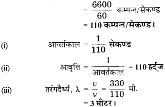 RBSE Solutions for Class 9 Science Chapter 11 ध्वनि 13