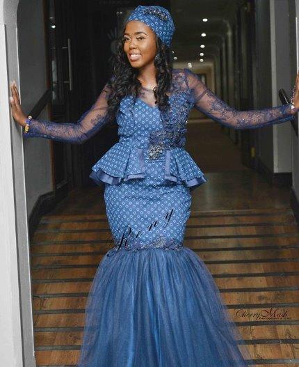 Stunning Shweshwe Dresses 2019 For African Girls