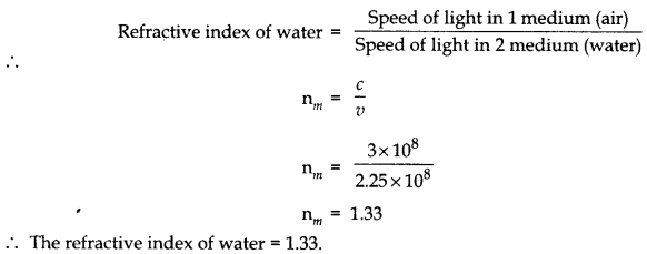 RBSE Solutions for Class 10 Science Chapter 9 Light As Q14