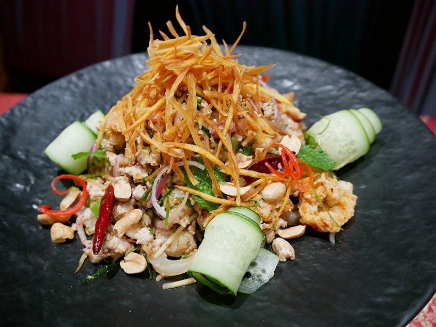 evian,SUKHOTHA,台北泰式料理,台北美食,喜來登,宋干節,泰式料理,潑水節 @VIVIYU小世界