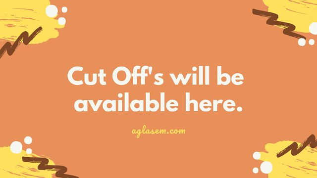 Cut Off's will be available here.