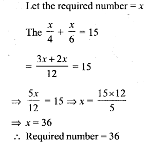 Selina Concise Mathematics Class 6 ICSE Solutions - Simple (Linear) Equations (Including Word Problems) - 3