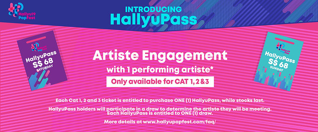 HallyuPopFest 2019 - Artiste Engagement
