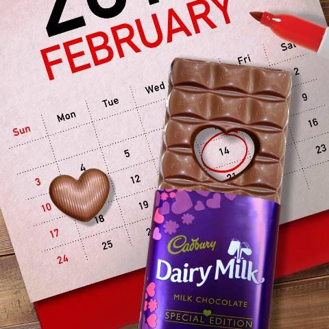 Cadbury Dairy Milk Pop Heart