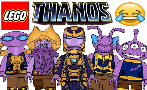 Funny Lego Thanos Minifigures !!! Part 5
