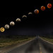 Super Wolf Moon Eclipse sequence