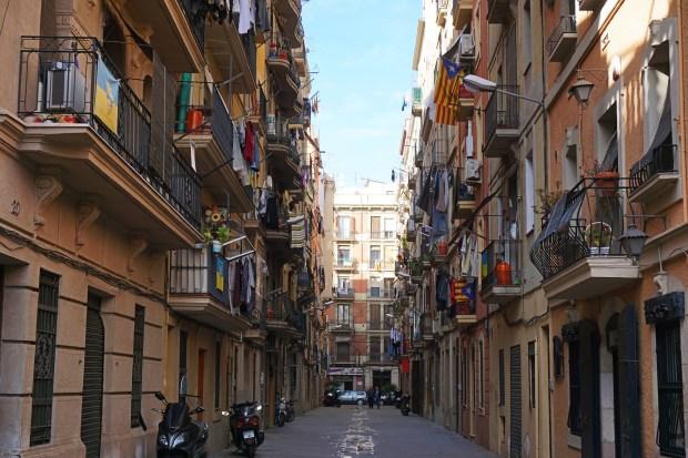 La Barceloneta neighborhood