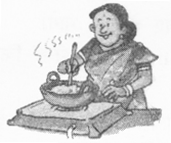 NCERT Solutions for Class 2 English Chapter 18 Granny Granny Please Comb my Hair 17