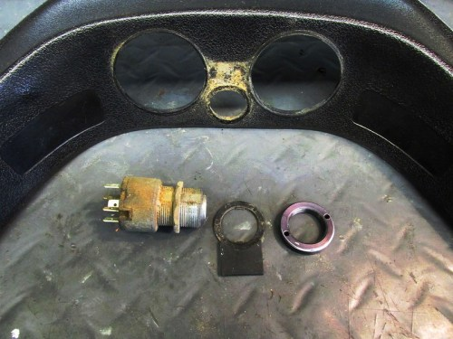 Ignition Switch Removed From Dash