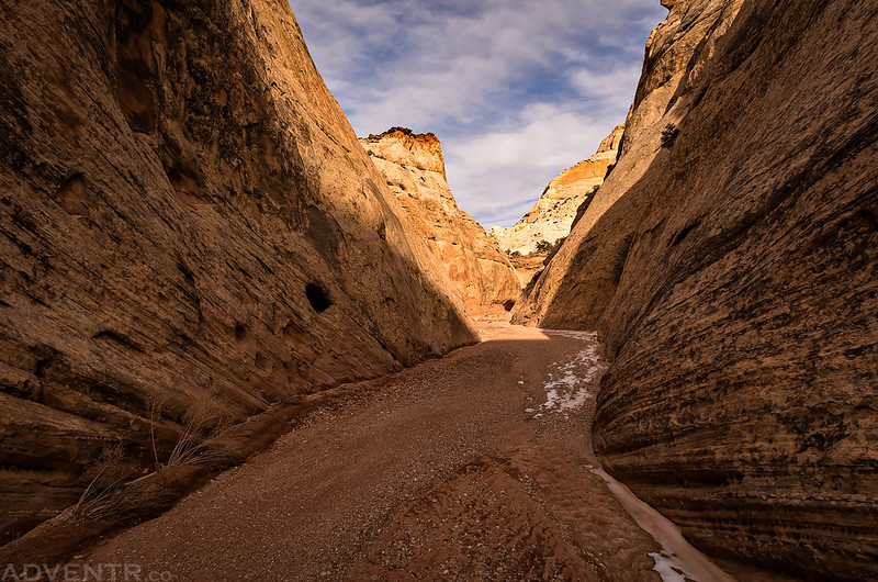 Narrow Canyon Hiking