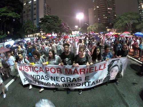 Justiça para Marielle: vidas negras e periféricas importam!