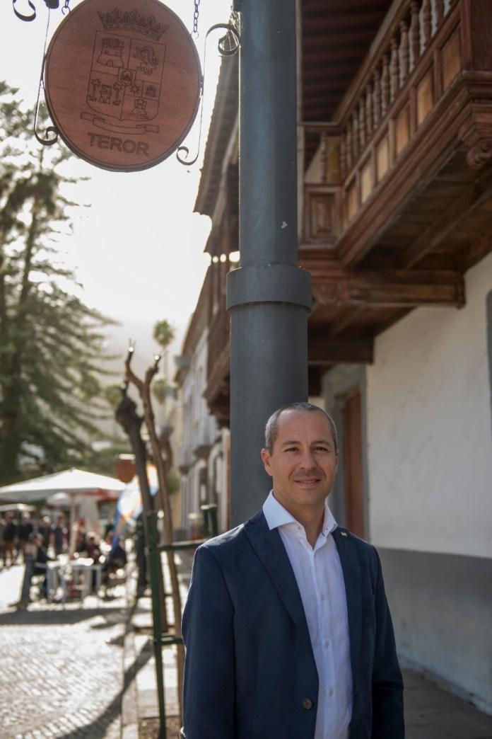 Carlos Álvarez candidato a la alcaldía de Teror