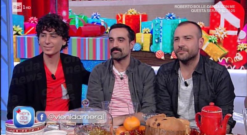 Capodanno in tv per Casa Surace Betteghella Galasso e Pugliese ospiti di Vieni da me su Rai