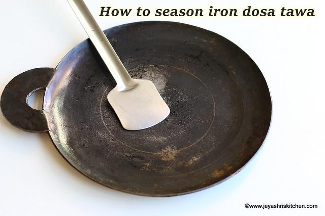 How to season iron tawa