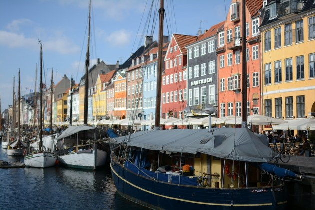 Nyhavn Canal - can't resist all the photos of her