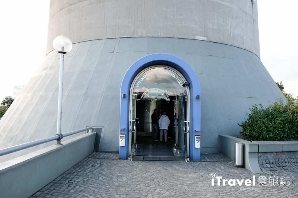 杜塞道夫景点 莱茵塔Rheinturm (11)